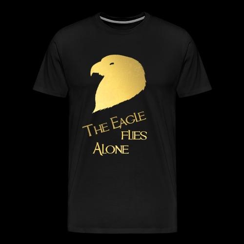 The Eagle flies Alone - Männer Premium T-Shirt