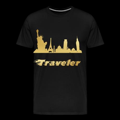 Traveler - Männer Premium T-Shirt