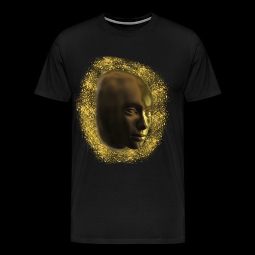 Golden Face - Männer Premium T-Shirt