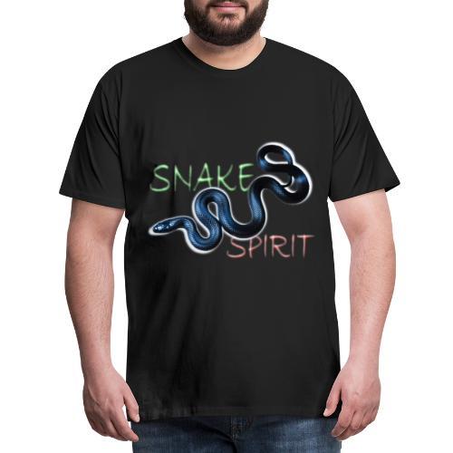 Snake Spirit - Männer Premium T-Shirt