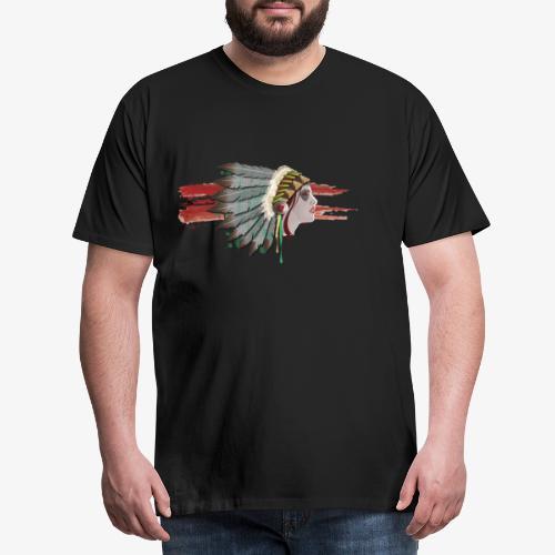 Native american - T-shirt Premium Homme