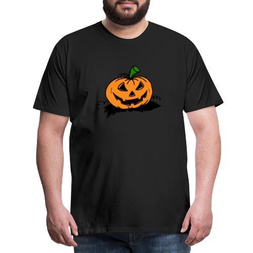Kürbis #Halloween #Geschenk - Männer Premium T-Shirt