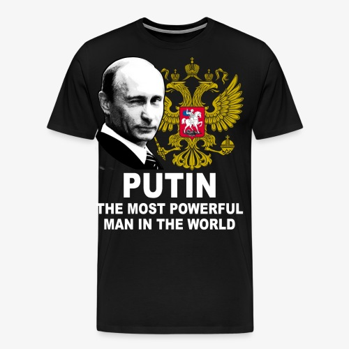 81 Putin The Most Powerful Man in the World - Männer Premium T-Shirt