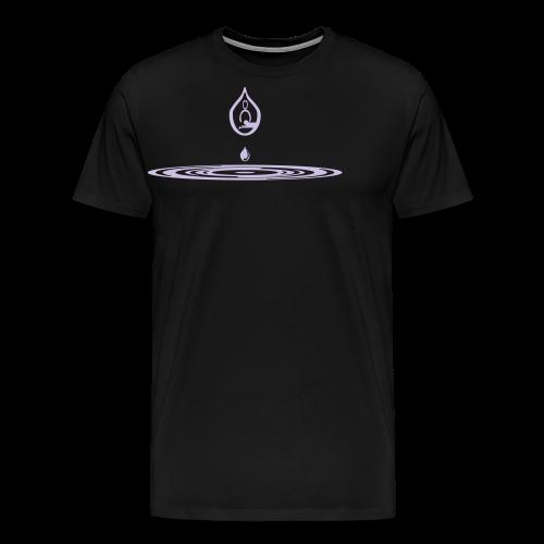 Zen-massage Logo-Design - Men's Premium T-Shirt