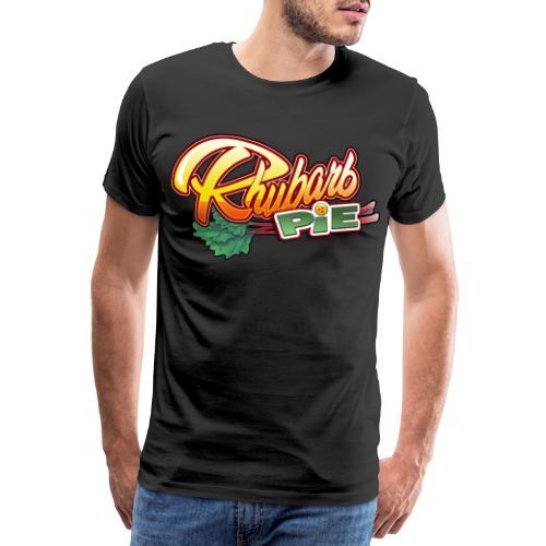 Rhubarb Pie - Typo - T-shirt Premium Homme
