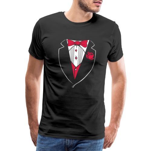Gag Smoking Frack Anzug - Männer Premium T-Shirt