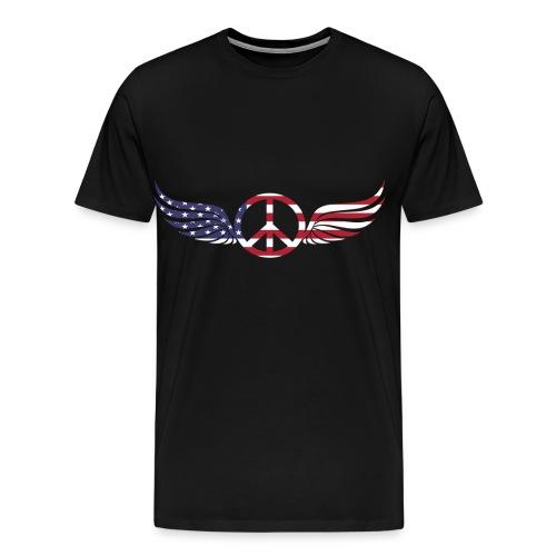 aigle américain - T-shirt Premium Homme
