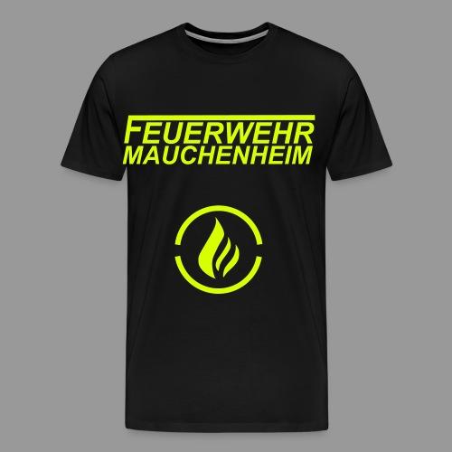 Flammenlogo - Männer Premium T-Shirt