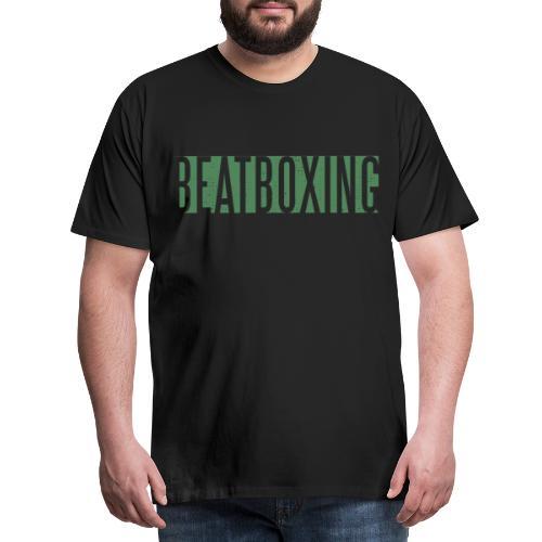 BEATBOXING SHIRT MEN - Männer Premium T-Shirt