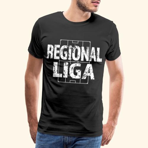 REGIONALLIGA im Fußballfeld - Männer Premium T-Shirt