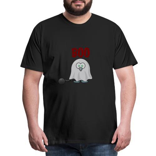 Boo trick or treat Geist Kette Kostüm - Männer Premium T-Shirt