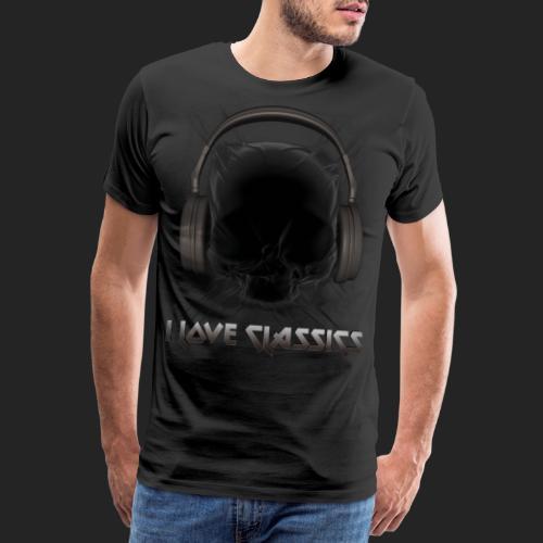 I love classics Black - T-shirt Premium Homme