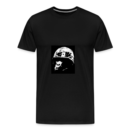 Chimp Soldier - Men's Premium T-Shirt