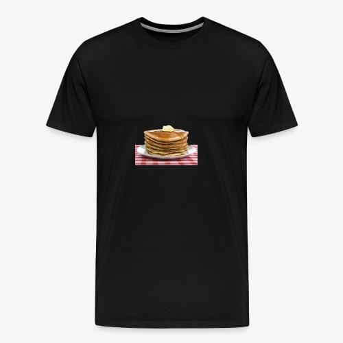 Pandekager - Herre premium T-shirt