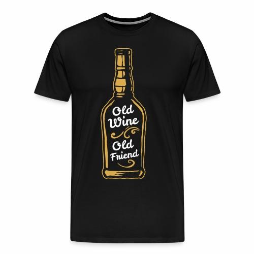 Old Wine - Männer Premium T-Shirt