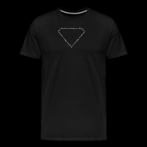 Hard Times white - Männer Premium T-Shirt