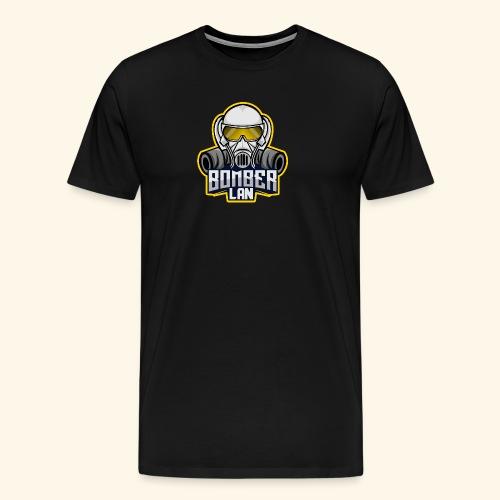 BOMBER LAN Logo - Männer Premium T-Shirt
