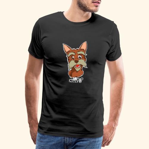 Nice Dogs schnauzer 2 - Maglietta Premium da uomo