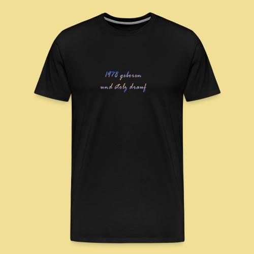 1978 - Männer Premium T-Shirt