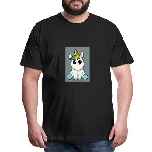 baby unicorn boy - Men's Premium T-Shirt
