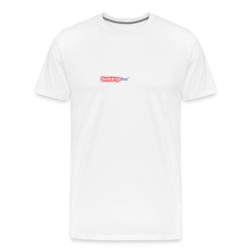 beatdropbox logo final and hires - Mannen Premium T-shirt