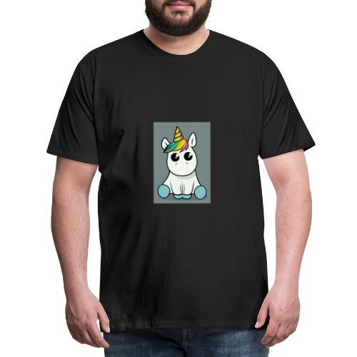 baby unicorn boy - Men's Premium T-Shirt