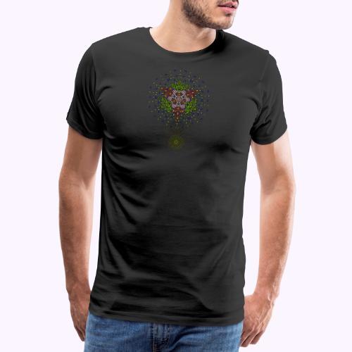 Star Geometrica front 2 - Miesten premium t-paita