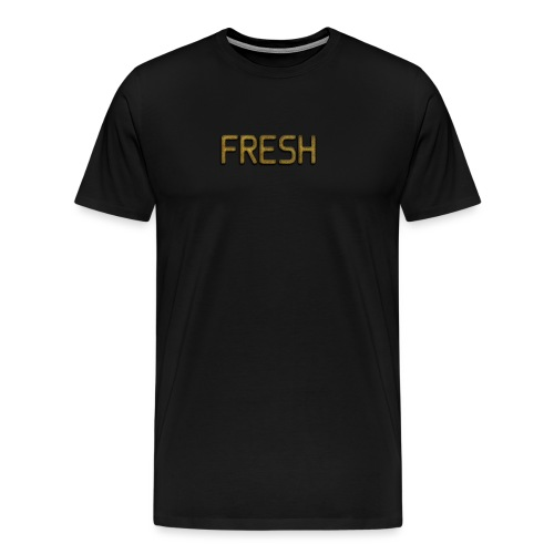 Limited Edition Fresh (Gold) Design - Men's Premium T-Shirt