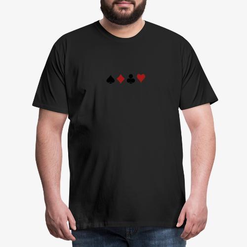 The World of POKER - Männer Premium T-Shirt