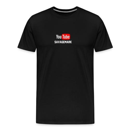 savagemark - Premium T-skjorte for menn