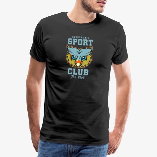 Tête de hibou - T-shirt Premium Homme
