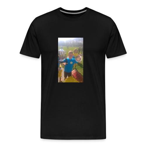 zelf shirt - Mannen Premium T-shirt