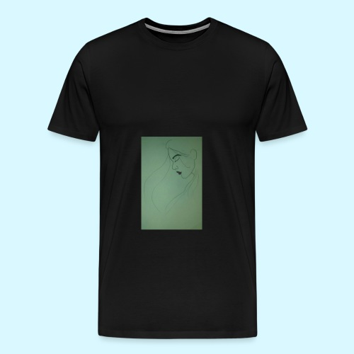 side profile - Men's Premium T-Shirt