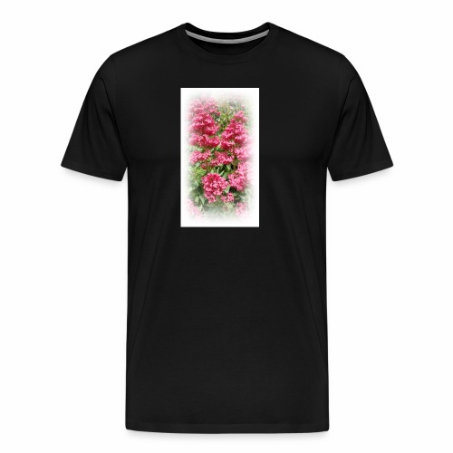 Red Flower - Men's Premium T-Shirt