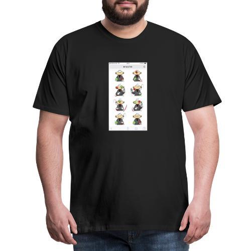 JOKOKO-Übung aus Set 4 - Männer Premium T-Shirt