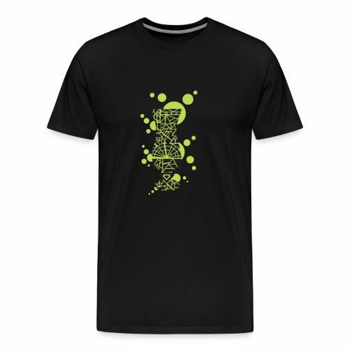 Hurricane Glas - Männer Premium T-Shirt