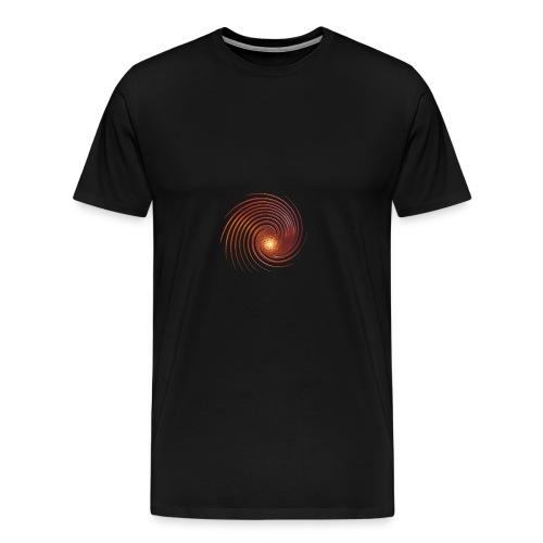 spirale circolare - Maglietta Premium da uomo