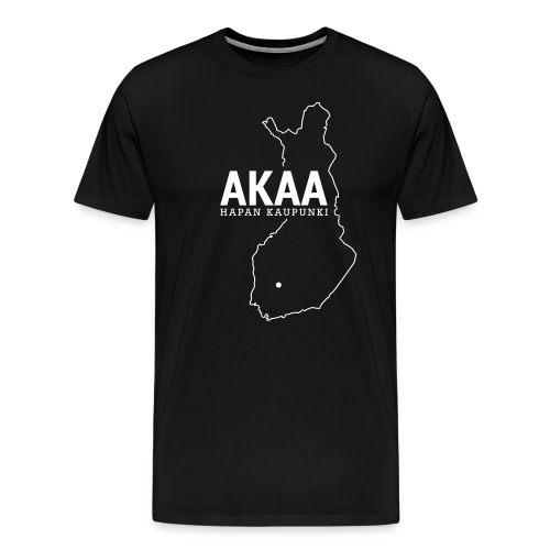 Kotiseutupaita - Akaa - Miesten premium t-paita