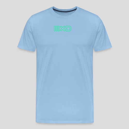 MXDMINTOUTLINE - Men's Premium T-Shirt