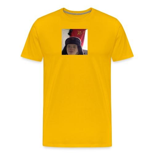 Kommunisti Saska - Miesten premium t-paita