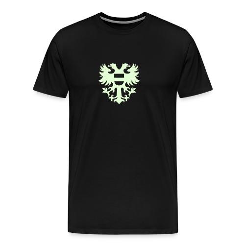 stadswapen groningen mono - Mannen Premium T-shirt