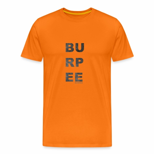 CF Naantalin burpeepainatus - Miesten premium t-paita