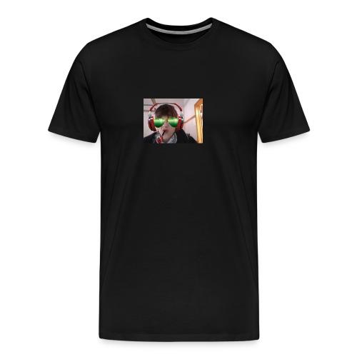 SMOKE NATION!! - Premium T-skjorte for menn