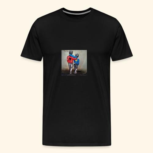 Albanien und Kosovo - Männer Premium T-Shirt