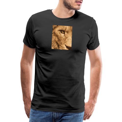 Lion eye - Männer Premium T-Shirt