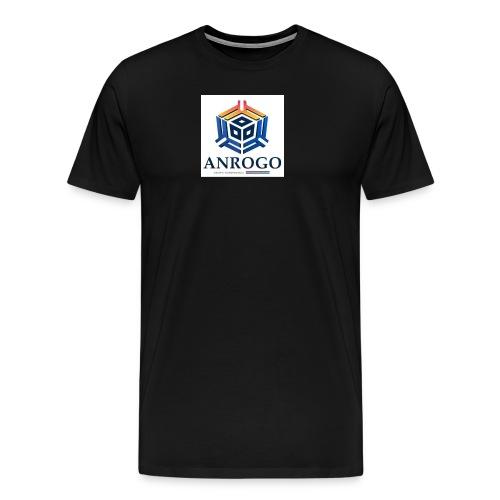 ANROGO - Camiseta premium hombre