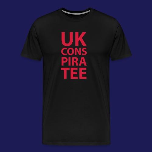 uk conspiratee 1c - Men's Premium T-Shirt
