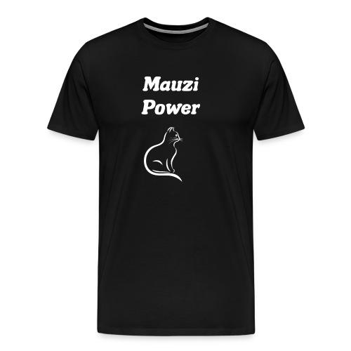 Katze Cat - Männer Premium T-Shirt