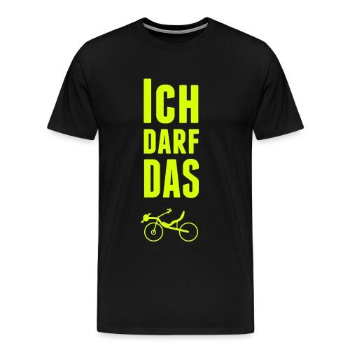 Ich darf das - Raptobike - Männer Premium T-Shirt