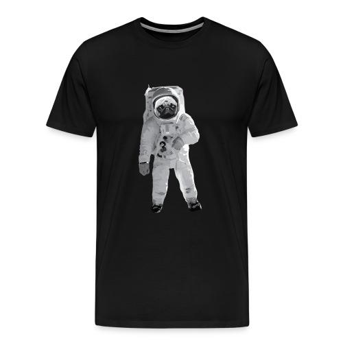 Space-Mops Astronaut Hund - Männer Premium T-Shirt
